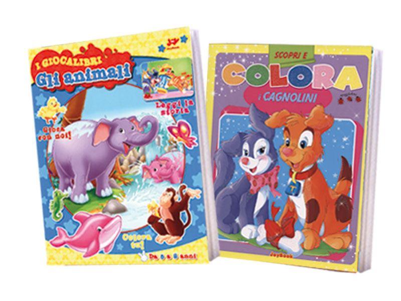 Offerta speciale 2 libri giocalibri animali colora for Libri in offerta