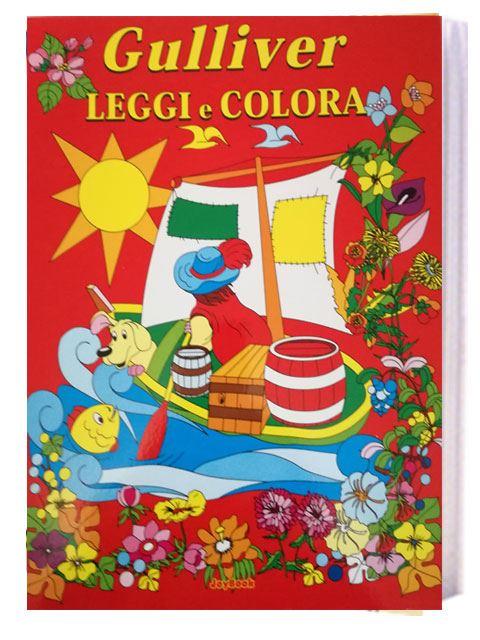 Gulliver leggi e colora gulliver store il negozio for Leggi libri online